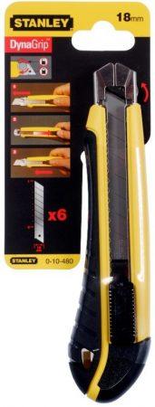 Stanley műanyagházas kés 18mm  6db penge (0-10-480) KIFUTÓ
