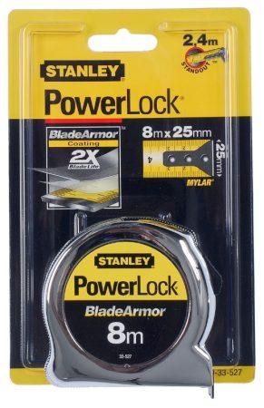 Stanley PowerLock mérőszalag 8méter (0-33-527)