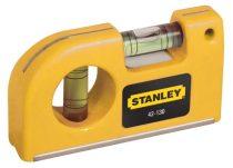 Stanley Mágneses zseb vízmérték 85mm (0-42-130)