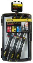Stanley FatMax 6db-os órás/műszerész csavarhúzó készlet (0-65-492)