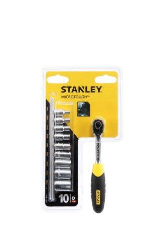 """Stanley Dugókulcs készlet mikroracsnis 1/4"""" (0-94-610)"""