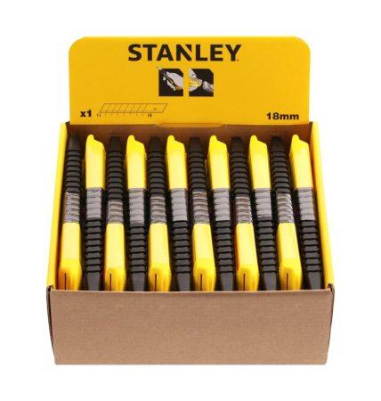 Stanley műanyagházas kés 18mm (1-10-151)