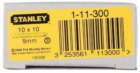 Stanley Tördelhető penge 9mm 100db (1-11-300)