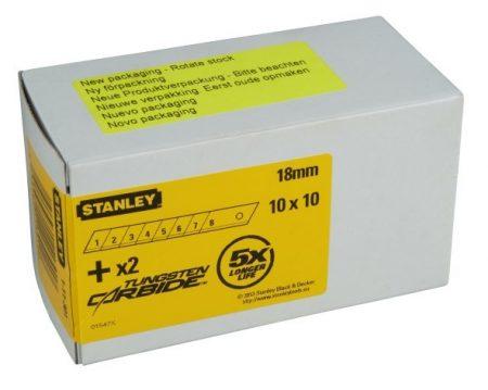 Stanley Tördelhető penge 18mm 100db (1-11-301)