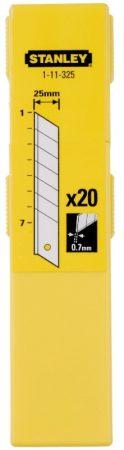 Tördelhető penge 25mm 20 db  1-11-325