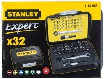 Stanley 32 részes behajtó fej készlet 25mm (1-13-905)
