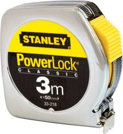 PowerLock mérõszalag fémházas 3m×12,7mm  1-33-218