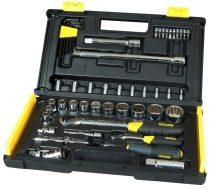 """1/4"""" és 1/2"""" Profi mikroracsnis dugókulcs készlet 50 részes  1-94-658"""