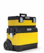 Stanley Fém/műanyag szerszámoskocsi láda sárga (1-95-831) KIFUTÓ TERMÉK