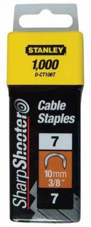 """Stanley Tűzőkapocs """"C"""" kábelhez 10mm (1-CT106T)"""