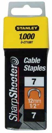 """Stanley Tűzőkapocs """"C"""" kábelhez 12mm (1-CT108T)"""