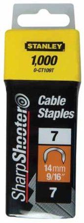 """Stanley Tűzőkapocs """"C"""" kábelhez 14mm (1-CT109T)"""