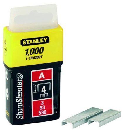 """Stanley Tűzőkapocs """"A"""" 4mm (3/53/530) 1000 db (1-TRA202T)"""