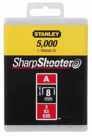 """Stanley Tűzőkapocs """"A"""" 8mm (3/53/530) 5000db (1-TRA205-5T)"""