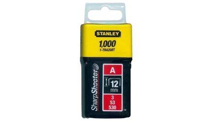 """Stanley Tűzőkapocs """"A"""" 12mm (3/53/530) 1000db (1-TRA208T)"""