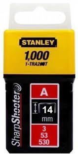 """Stanley Tűzőkapocs """"A"""" 14mm (3/53/530) 1000db (1-TRA209T)"""