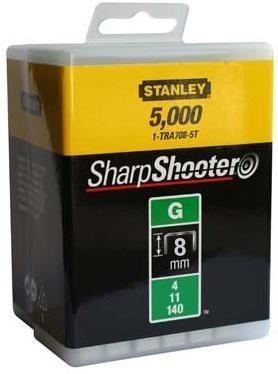"""Stanley Tűzőkapocs """"G"""" 14mm (4/11/140) 5000db (1-TRA709-5T)"""