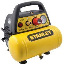 Stanley Olajmentes hordozható dugattyús kompresszor (DN200/8/6)