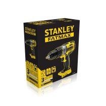 Stanley FatMax 18V-os kétsebességes ütvefúró/csavarozó akku töltő nélkül
