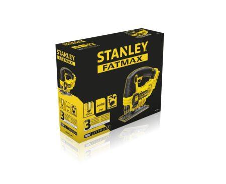 Stanley FatMax 18V-os dekopírfűrész akku töltő nélkül (FMC650B)