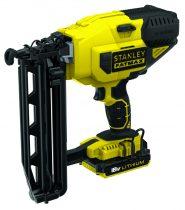 Stanley 18V-os 16Ga Akkus Szögező akku és töltő nélkül(FMC792B)