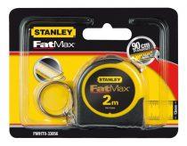 Stanley Fatmax kulcstartós mérőszalag 2m FMHT0-33856