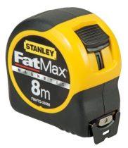 Stanley Fatmax mágneses mérőszalag 8méter (FMHT0-33868)