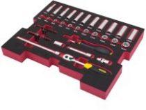 """Fatmax T-STAK 48részes 1/4"""" készlet  FMHT0-74295"""