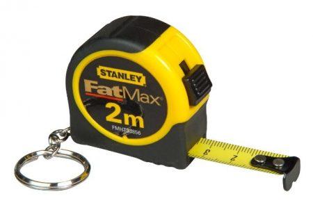 Stanley Fatmax kulcstartós mérőszalag 2méter (FMHT1-33856)