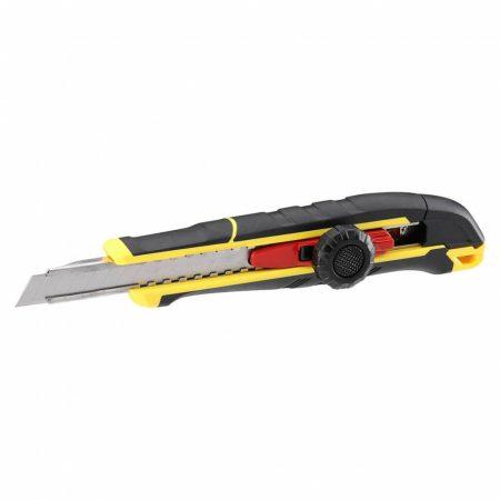 Stanley FatMax Tördelhető pengés kés rögzítőgombbal 9mm (FMHT10328-0)