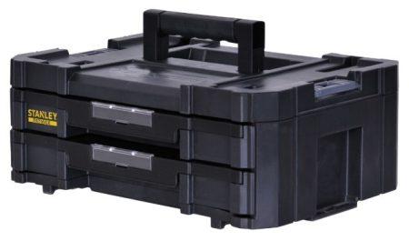 Stanley Fatmax TSTAK IV tárolórendszer dupla fiókos (FMST1-71969)