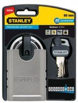 Stanley Edzett acél biztonsági lakat 60mm (S742-001) KIFUTÓ