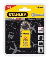 Stanley 3 számjegyű TSA lakat kapocs szerkezettel (S742-063) KIFUTÓ