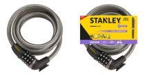 Stanley Biciklilakat számzáras kábeles 12x1800mm (S755-204)