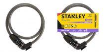 Stanley Biciklilakat számzáras kábeles 12x900mm (S755-205)