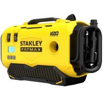 STANLEY® FATMAX® 18 VOLT-OS V20 AKKUMULÁTOROS 11 BAR NYOMÁSÚ HÁRMAS FORRÁSÚ INFLÁTOR (SFMCE520B)