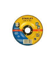 Stanley csiszoló korong fémhez 125x22x6mm