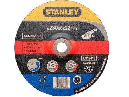 Stanley csiszoló korong fémhez 230x22x6mm