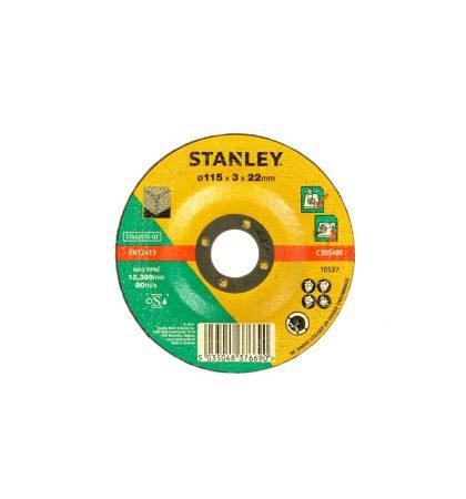 Stanley kőzetvágó tárcsa 115x22x3.2mm