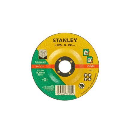 Stanley kőzetvágó tárcsa 125x22x3.2mm