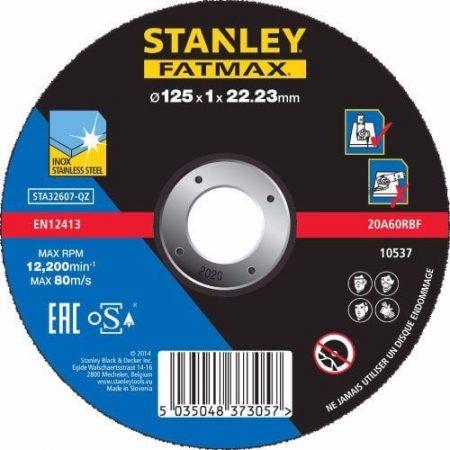 Stanley Fatmax inoxvágó tárcsa 125×1×22mm (STA32607)