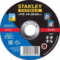 Stanley Fatmax inoxvágó tárcsa 115×1,6×22mm (STA32647)