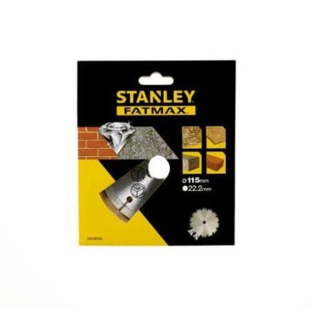 Stanley FatMax gyémánttárcsa közethez 115mm (STA38102)