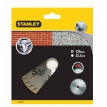 Stanley gyémánttárcsa gránit/tégla 125x22.2mm (STA38217)