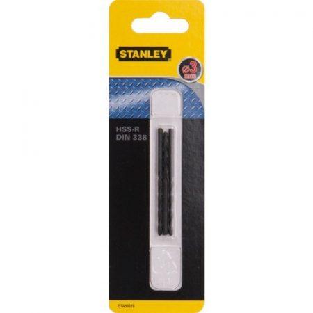 Stanley fémfúrószár HSS-R 3mm 3db (STA50020)