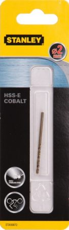 Stanley Kobalt fémfúrószár HSS-E 2mm (STA50072)