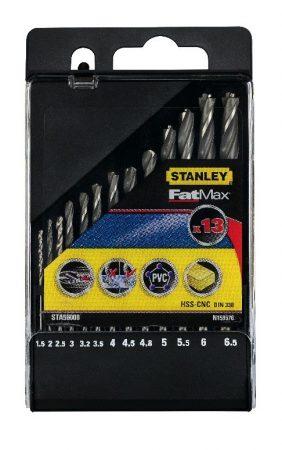 Stanley Fém Fúrószár készlet 1,5-6,5 mm (STA56008)