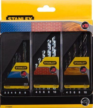 Stanley Fúrószár készlet fa, fém, kőzet 14 részes (STA56045)