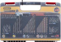 Stanley Fúrószár készlet Téglához HSS 2 mm, 3 mm, 4 mm, 5 mm, 6 mm, 8 mm, 10 mm (STA56062)