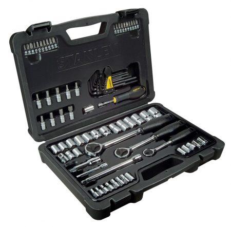 """80 részes 1/4"""" 3/8"""" 1/2"""" dugókulcs készlet  13-22 mm  FK  STHT0-73930"""